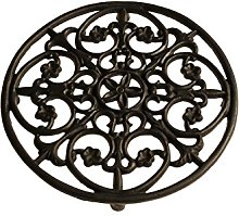 French Kitchen Collection Trivet Large Dark