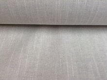 "French Linen White Dove Grey 140cm(54"")"""