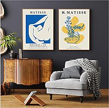 French Matisse Flowers Poster Hd Print Wall