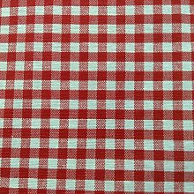 French Petite Collins Gingham Check Red Designer