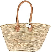 French Style Basket with Shoulder Length Padded