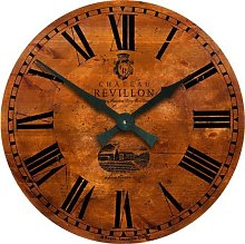French Wine Château Wall Clock - 36cm