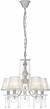 Frenette 5-Light Shaded Chandelier Fleur De Lis