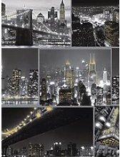Fresco City At Night Wallpaper