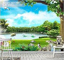Fresh Landscape Mural Living Room Bedroom Custom