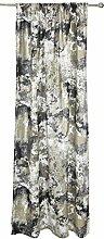 Fresko Curtain 140x250 cm grey