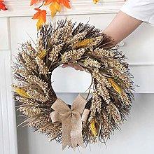 FRFJY Autumn Wreath Thanksgiving Home Decoration