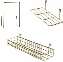 FRIADE Gold Grid Basket with
