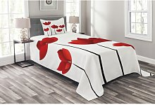 Friday Floral Bedspread Set with Cushion Cover
