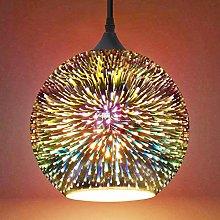 Frideko Glass Pendant Light, 3D Colourful