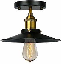 Frideko Vintage Semi-Flush Mount Ceiling Light,