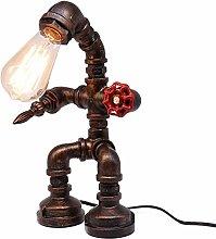 Frideko Vintage Table Lamp, Retro Industrial Iron