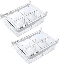 Fridge Drawer Pull-Out Refrigerator Organizer Bin