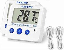 Fridge Freezer Thermometer Max/Min Memory GXSTWU