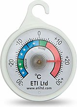 Fridge Or Freezer Thermometer 52 mm Dial, Colour