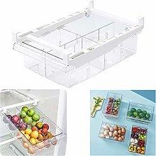 Fridge Pantry Organiser - 4 Drawers Egg Tray