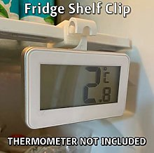 FRIDGE SHELF CLIP for LCD Digital Thermometer with