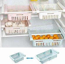 Fridge Storage Containers, Retractable Plastic