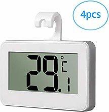 Fridge Thermometer, eSynic 4PCS Waterproof