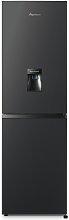 Fridgemaster MC55240MDFB Fridge Freezer - Black