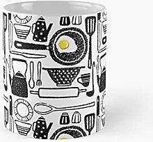 Fried Egg Kitchen Seamless Classic Mug   Best Gift