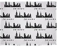 Friends Scene Fleece Blanket