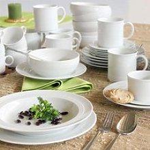 Friesland Jeverland Weiß Combi tableware set 42