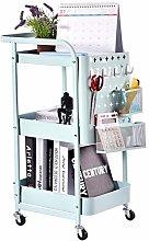Frifer Storage Trolley,3-layer Mobile Storage