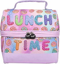 FRINGOO Boys Girls Lunch Bag Thermal Insulated