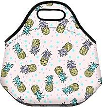 FRINGOO® Girls Boys Kids Lunch Bag Neoprene Carry