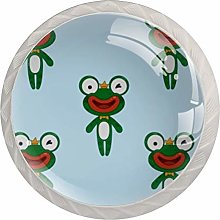 Frog Dancer Kitchen Cabinet Knobs Round Home Decor
