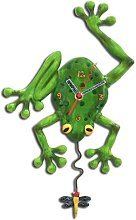 Frog Frog Fly Clock Grandfather Clock By Michelle