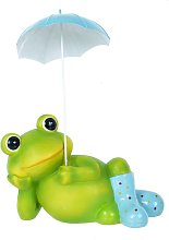Frog Garden Decoration - Blue