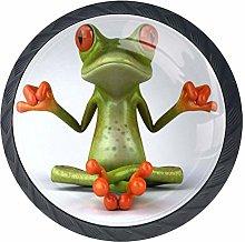 Frog Yoga Drawer Pulls Handles Cabinet Dressing