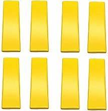 Frolahouse 8Pcs Yellow Cabinet Handle