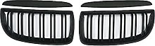 Front Bumper Kidney Grill Replacement Dual Slat