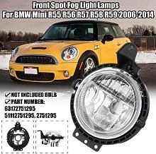 Front Spot Fog Light Lamps For BMW Mini R55 R56