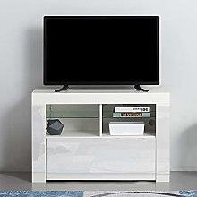 Front TV Stand Cabinet Unit Modern 100cm TV Desk