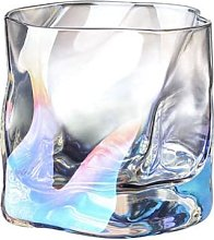 Frosted Glass Beer Glass Water Cup Outline In Gold