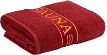 Frottana Sauna Towel with Border, made of 100%
