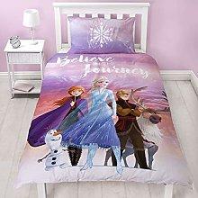 Frozen 2 Disney Single Polycotton Duvet Cover |
