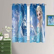Frozen Movie Blackout Curtain Panels for Bedroom