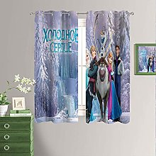 Frozen Movie Blackout Curtain Panels for Girls