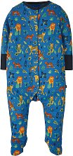 FRUGI GOTS Big Cats Sleepsuit - Up to 3 mths