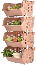Fruit and Vegetable Storage Rack Kitchen Floor