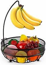 Fruit Basket Bowl Veg Rack Wire Fruit Tree Bowl