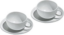 Fruit basket Espresso cup - Set of 2 cups + 2