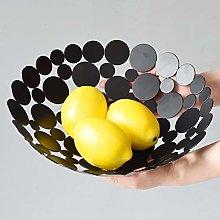 Fruit Basket,Fruit Bowl,Storage Bowl,Chrome