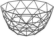 Fruit Basket litty089 Modern Geometric Wire Basket