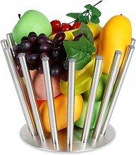 Fruit Bowl Detachable Metal Fruit Basket Modern